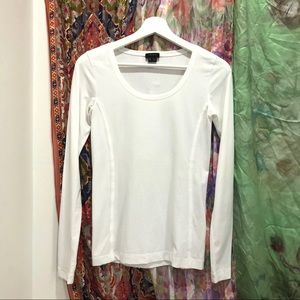 Theory Jamee petite long sleeve t shirt Sz TP